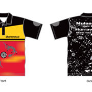 Aboriginal Shirt MURRAWARRA (STAND YOUR GROUND)