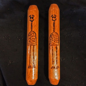 Aboriginal Emu Clap Sticks