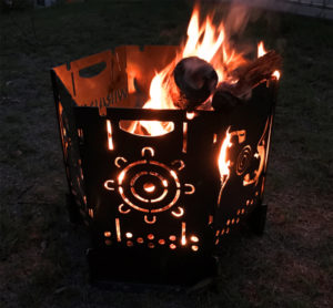Aboriginal Fire Bucket